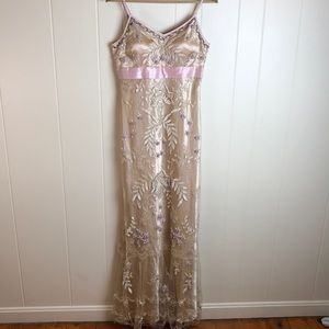 Sue Wong Full Length Gown Semi Formal/Party Dress